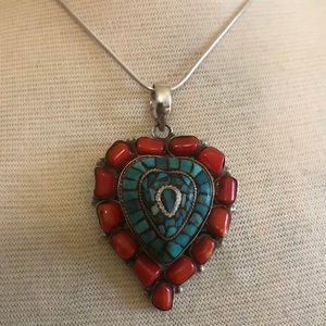 Jewelry - ❤️❤️Fabulous Heart Pendant❤️❤️